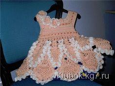 Изумительное платье для малышки | Клубок