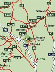 Woburn Forest Map