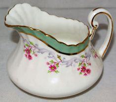 Paragon Fine Bone China Vintage Milk Jug and Sugar Bowl