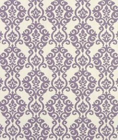 Waverly Luminary Lilac Fabric perfect for purple nursery decor Textiles, Textile Patterns, Waverly Fabric, How To Make Curtains, Curtain Patterns, Modern Essentials, Purple Fabric, Home Decor Fabric, Drapery Fabric