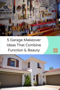 Got a lot of free time? Then it's time to transform your garage! Here are tons of organizational ideas and decor tips for those who want to go beyond their garage decor. Try these fabulous garage makeover ideas! Garage Renovation, Garage Remodel, Garage Makeover, Bright Paint Colors, Hanging Wire Basket, Garage Floor Coatings, Remodeling Costs, Driven By Decor, Diy Projects Cans