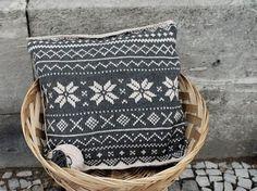 DIY-Anleitung: Kissen mit Norwegermuster stricken via DaWanda.com
