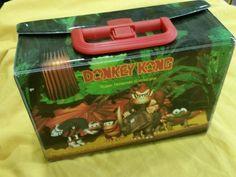 Donkey Kong case caja para juegos super nintendo. VERY RARE VINTAGE