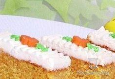 húsvéti répás süti - vajat habosra,répa levét,masszához adjuk,tetejét tetszőlegesen, - faciendum Blogja - 2013-03-23 22:13