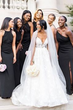 There's nothing like that wedding day glow! ✨ The most stunning squad captured by the talented @terribaskin.   Photographer: @terribaskin #stylemepretty #bridesmaiddresses #weddingdress #weddinggown #bridesmaids Bridesmaid Dress Styles, Bridesmaids, Wedding Gowns, Wedding Day, Day Glow, Bridal Parties, Bridal Show, Your Girl, Squad