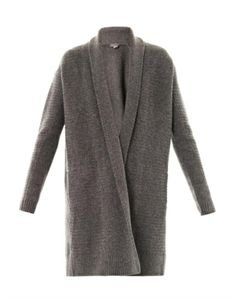 Vince+Textured-Knit+Draped+Cardigan #refinery29