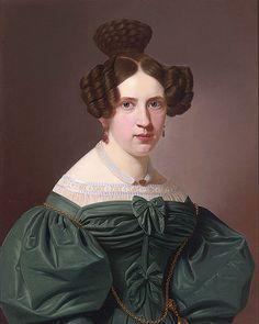 Frisuren 19 Jahrhundert Frisuren Jahrhundert 1830s Pinterest