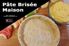 La pâte brisée est une recette de base en pâtisserie et s'adapte aussi bien aux recettes salées que sucrées. La meilleure pâte pour réaliser les tartes. Pie Dish, Pudding, Dishes, Desserts, Food, Chili Pepper Paste, Kaffir Lime, Tarts, Eating Habits
