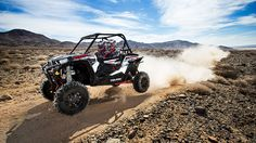 The all new Polaris RZR XP 1000 EPS is a whole new machine from the ground up. It's bigger, faster and better suspended than any RZR that has come before. Even the most extreme, race-modified side-by-sides from a few years ago couldn't match the specs offered up by the Polaris RZR XP1000 EPS.