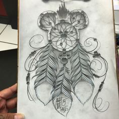 Disney Dreamcatcher Tattoo
