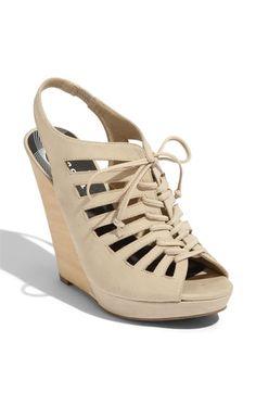 Trouvé 'Clairmont' Wedge Sandal #Nordstrom