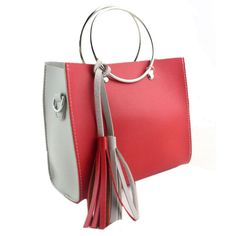 Women Fashion Hit Color Tassel Shoulder Bag Big Large Tote Solid Zipper PU leather Handbag Ladies Phone Purse Messenger Bag