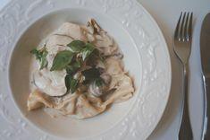 massa caseira recheada com cogumelos e ricota   Francinha Cooks