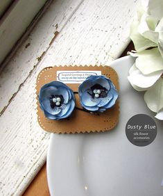 240 best inspired greetings designs images on pinterest in 2018 2 tiny small silk flower hair pin clips light dusty blue steel wedding toddler hair accessories bridal floral pieces for kids black lace mightylinksfo