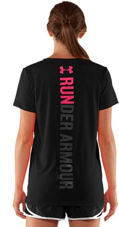 Women's Under Armour Run V-Neck...I must have this!
