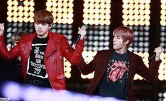 Jungkook and Jin ❤ Korean Music Wave DMC Festival #BTS #방탄소년단