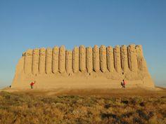 Стена крепости Киз-Кала [Долгий В,]