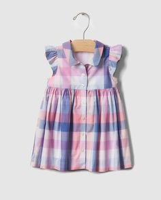 19 Ideas for sewing baby shirt toddler dress Baby Girl Frocks, Frocks For Girls, Little Girl Dresses, Girls Dresses, Cute Baby Dresses, Baby Girl Romper, Girls Frock Design, Baby Dress Design, Baby Girl Dress Patterns