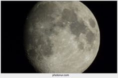 The moon - Nur is Thinking Out Loud - Sapere aude