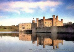 Leeds Castle Kent England   Exclusive Fine by SmallFineArtCentre