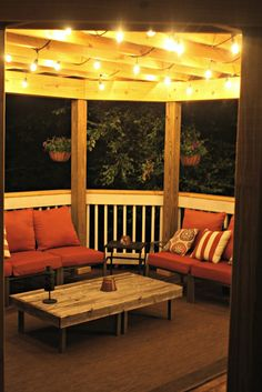 The BEST outdoor string lights! Commercial grade and beautiful lights.