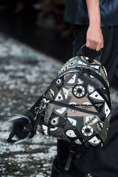 Fendi S'16 Monster Backpack #Accessories #FendiMonster