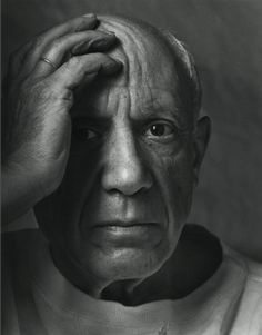 Pablo Picasso, 1954 © Arnold Newman