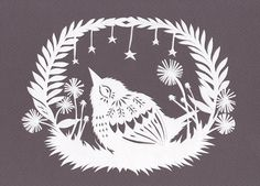 Star Gazing - Cut Paper Art | Flickr - Photo Sharing!