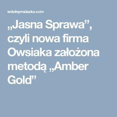 """""""Jasna Sprawa"""", czyli nowa firma Owsiaka założona metodą """"Amber Gold"""""""