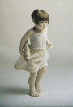 Dolls as Art - Kazuyo Oshima Ooak Dolls, Art Dolls, Art Asiatique, Realistic Baby Dolls, Asian Doll, Polymer Clay Dolls, Modern Dollhouse, Doll Maker, Waldorf Dolls