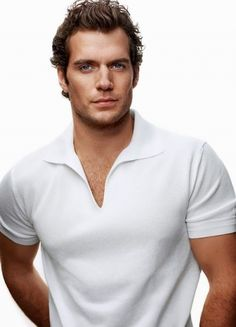 Henry Cavill.. man of steel