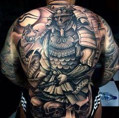 Giật mình với 19 hình xăm Samurai Nhật Bản độc đáo và kỳ quái