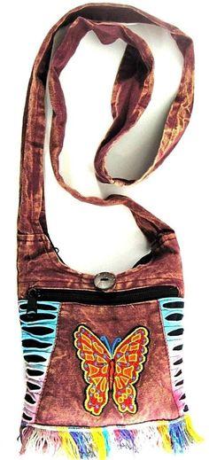 Women Cross Body Bag 100% Cotton.  SSS 102 #Unbranded #MessengerCrossBody