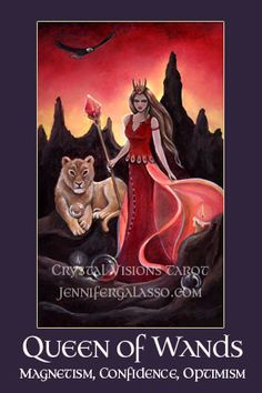 Crystal Visions Tarot Suit of Wands