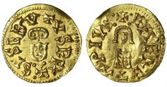 Visigoth. Sisebut. 612-621 AD. Gold Tremissis - Gold Coins - Coins Rare Coins, Gold Coins