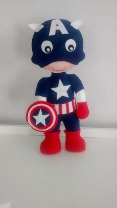 Capitão América (Moldes Lolita Biruta)