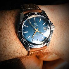 #Yema #yemasousmarine #watch #watchgeek #watchporn #wristporn #wristwatch #vintagewatch #vintageyema #submariner #watchofinstagram #watchoftheday #yemawatch #watchgeek #watchcommunity #oldschool #madeinfrance by loudavi #rolex #submariner