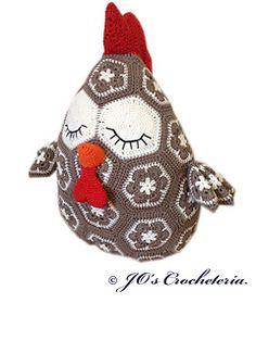 JO's Crocheteria Chicken