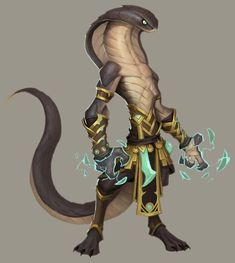 Sethrak concept art - Sethrak - Wowpedia - Your wiki guide to the World of Warcraft Monster Concept Art, Alien Concept Art, Creature Concept Art, Fantasy Monster, Monster Art, Creature Design, Snake Monster, World Of Warcraft, Warcraft Art