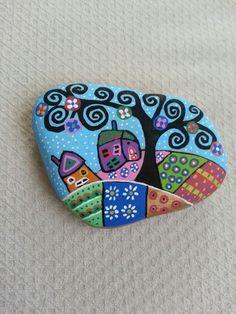 #stone#paintinig#houses
