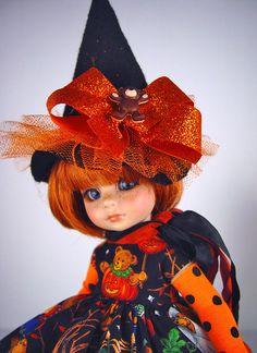 "Halloween! fits Tonner Patsy, Ann Estelle, 10"",11"" doll. LittleCharmersDollDesgn #DressforTonnerPatsyAnnEstelle"