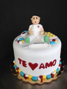 Nurse cake by Karla Pereira B