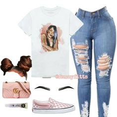 Cute Fashion Outfits for Teens worth Copying - Boujee Outfits, Swag Outfits For Girls, Cute Teen Outfits, Teenage Girl Outfits, Teenager Outfits, Dope Outfits, Teen Fashion Outfits, Look Fashion, Trendy Outfits
