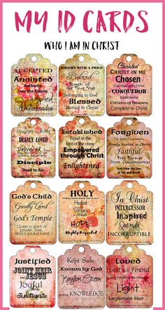 50% Off: Printable Bible Journal Cards to by DigiScrapDelights