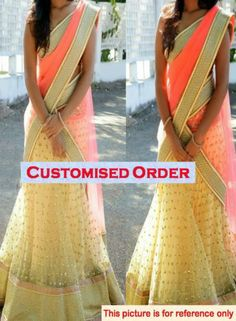Lehenga Choli Dress, pop of color Indian Wedding Outfits, Indian Outfits, Pakistani Outfits, Bridal Outfits, Indian Weddings, Wedding Dresses, Indian Attire, Indian Ethnic Wear, Indian Style