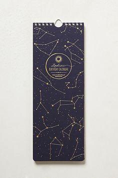 Zodiac Sign 2014 Calendar | Anthropologie