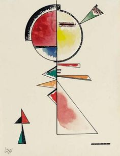 Wassily Kandinsky - 'Unstable Balance' - (1930)