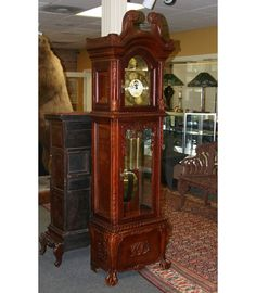 "I know grandfather clocks are not necessary, take up a lot of space and may be ""outdated,"" but I like them anyway. Sue me. :)"