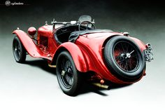 The Car: Alfa Romeo 8C 2300 Mille Miglia Spyder by Castagna, #2211072, Unrestored, 1933  12cylinders