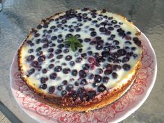 Chow and Chatter: Bluberries Kuchen (Chile)
